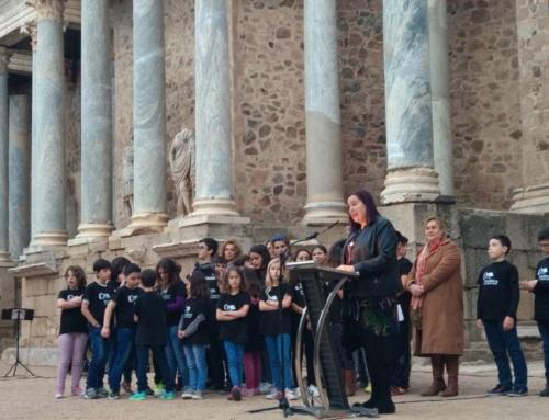 El colegio Gloria Fuertes de Fuente del Arco y los trabajadores de la Finca 'Los Quintos de San Martín' de Valencia de las Torres premios Iberlince 2018
