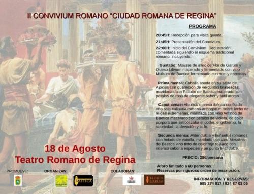 """Joaquina Hernández, sobre el Convivium de Regina: """"Se pretende embarcar a los participantes en un viaje en el tiempo, transportándolos a la Roma Imperial""""."""