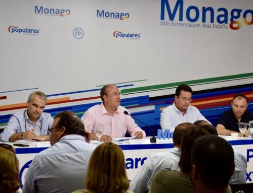 El PP de Extremadura propondrá a Monago como senador por designación autonómica