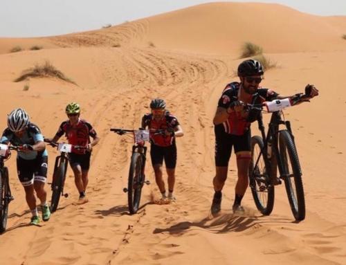 El azuagueño Pepe Hidalgo participa en la Marruecos On Bike by Iguña