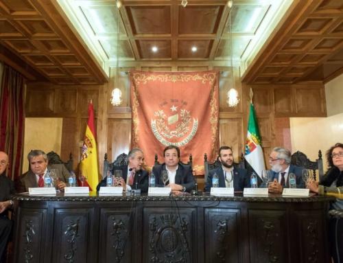 El presidente de la Junta destaca el carácter riguroso y académico de las jornadas 'El Tribunal Inquisitorial de Llerena y su jurisdicción en Extremadura'