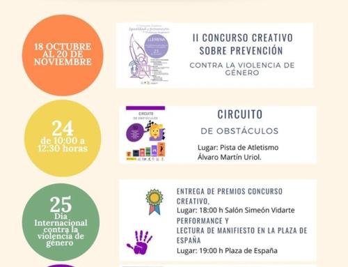 Llerena organiza su primera una semana de sensibilización contra la violencia de género