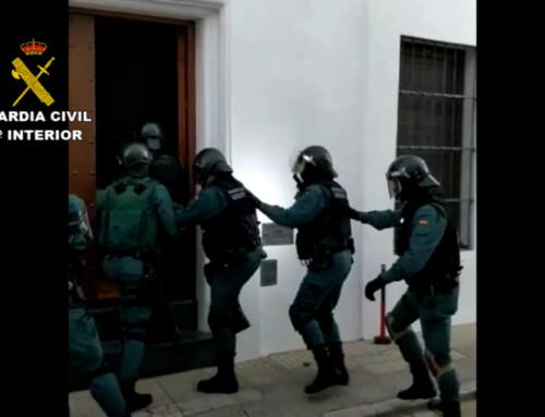 La Guardia Civil detiene a cinco personas por tráfico de drogas