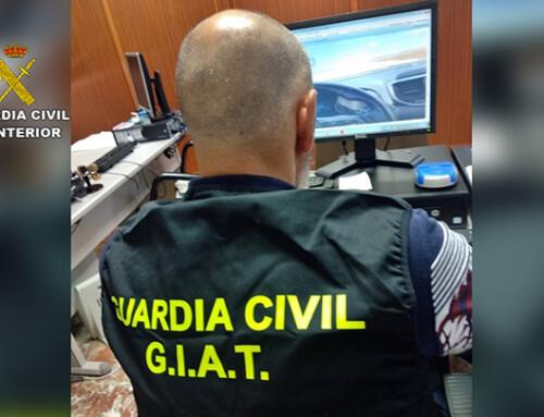 La Guardia Civil investigó a un conductor, que se grabó a sí mismo circulando a gran velocidad y colgó el vídeo en redes sociales