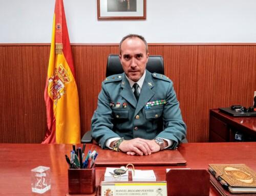 El Teniente Coronel Manuel Delgado Fuentes, nuevo Jefe de la Comandancia de la Guardia Civil de Badajoz.