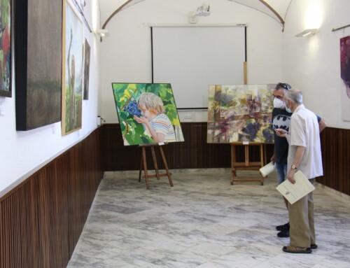 75 obras pictóricas han participado en la V Bienal de Pintura de Los Santos