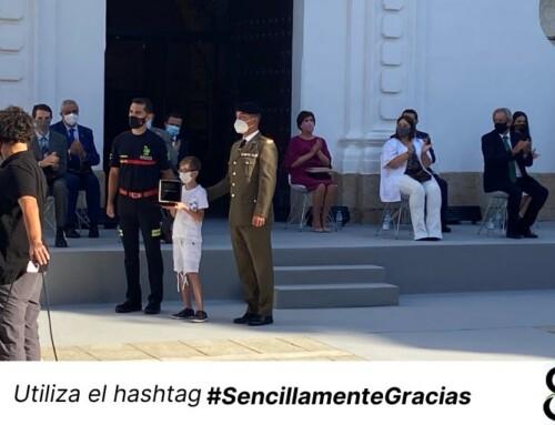 La Junta, representantes de instituciones y sociedad civil rinden homenaje en el Día de Extremadura a víctimas y colectivos que luchan contra la Covid 19