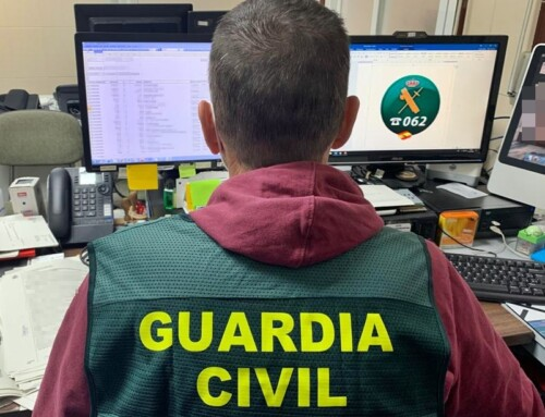 La Guardia Civil detiene a un grupo de ciberdelincuentes que llegó a estafar más de 80.000 € a una empresa pacense