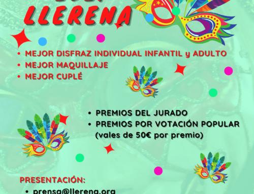 LLerena programa un Concurso online del Carnaval 2021