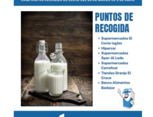 El Banco de Alimentos de Badajoz necesita leche urgentemente