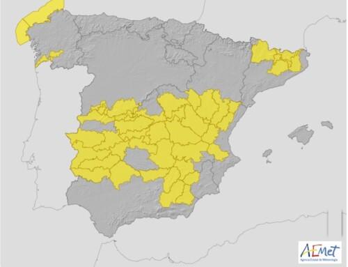 El 112 activa para mañana martes el nivel amarillo por tormentas con probables rachas de vientos en la región