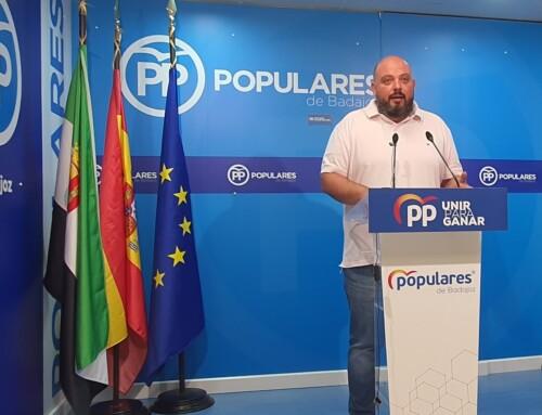 El PP de la provincia de Badajoz comienza una campaña a pie de calle para explicar las iniciativas del Partido Popular para bajar el coste del recibo de la luz