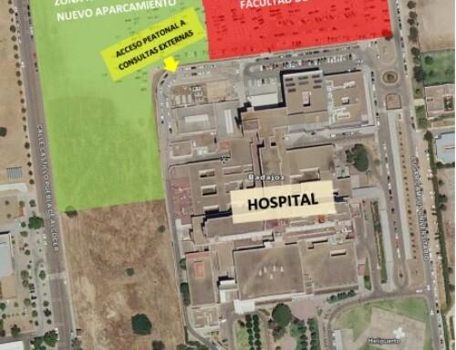 Las obras de la primera fase de la nueva Facultad de Medicina en Badajoz comenzarán el próximo jueves, 23 de septiembre